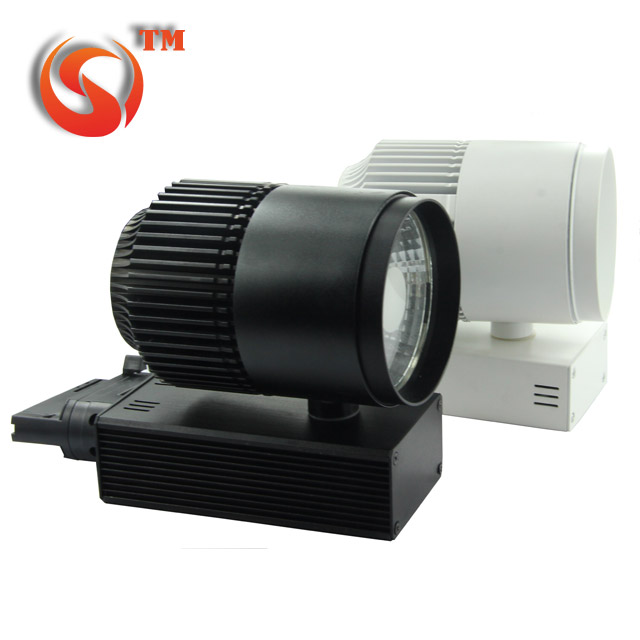20w cob LED track light , <strong>100</strong> - 120 lms per <strong>w</strong> , CCT 4000K 5000K 6000K