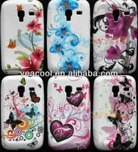 Flower TPU Case Cover for Samsung Galaxy Ace Plus S7500