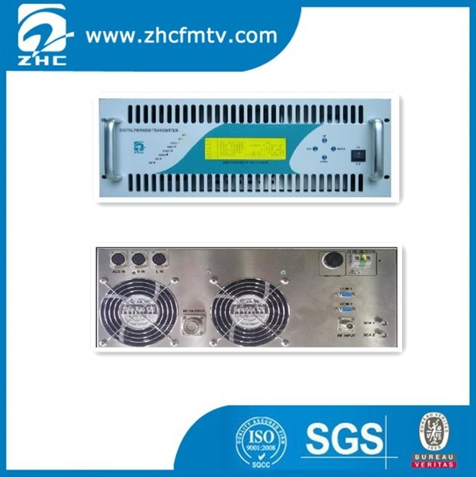 High Quality 2KW Compact for Radio Station fm transmitter with digital pll