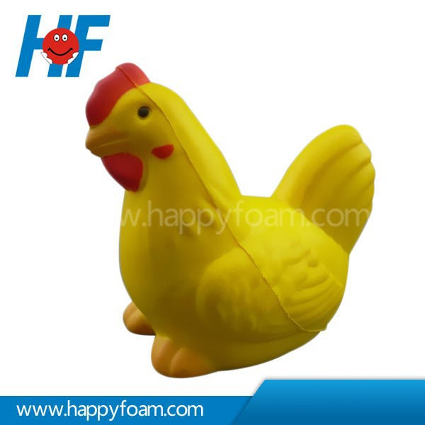 PU Promotional Cheap Gifts Stress Chicken