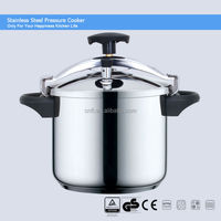 100% safety guarantee 18/8 stainless steel pressure cooker suitable to gas stove & induction cooker CSB 22cm 4L