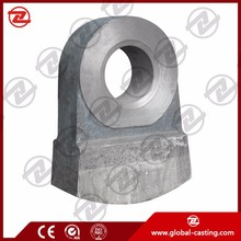 Cast mining machine part,hammer crusher spare parts,crusher hammer head for sale for coal