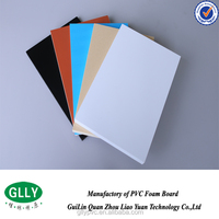 PVC material hot selling colored thermoformable foam sheet