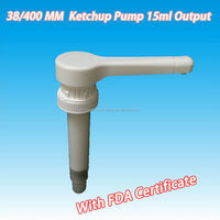 38MM Food Grade Syrup Pump / PP Dispense wine pump with 15cc Dosage