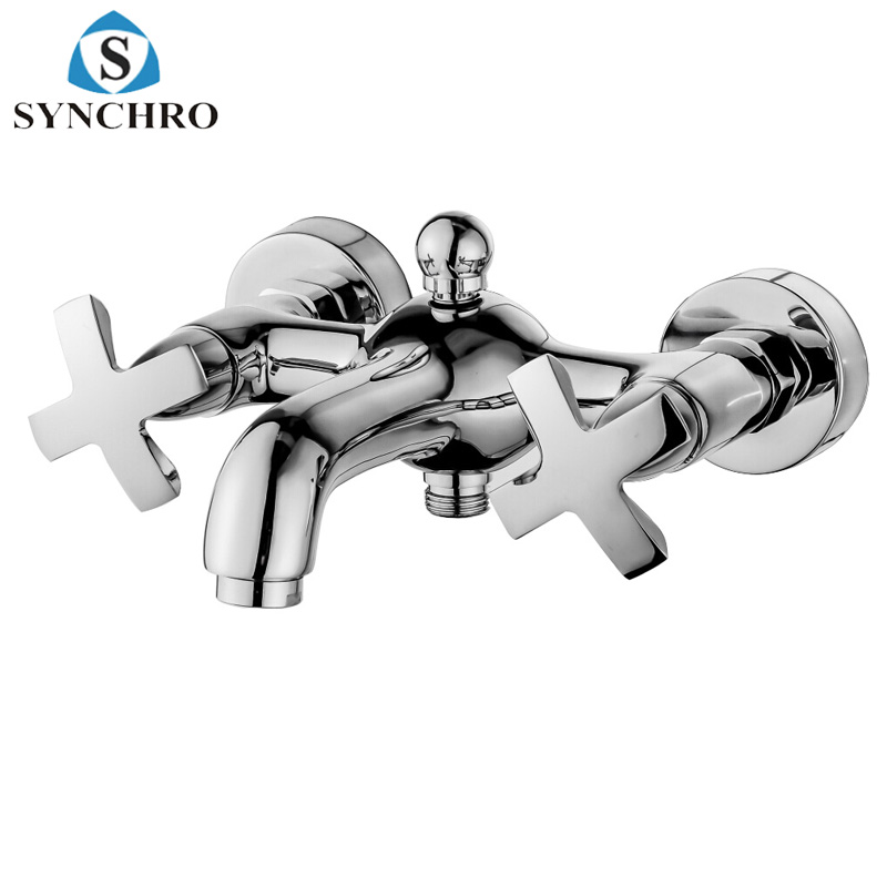 SKL-0420 Wall Mounted Hot & Cold Shower Mixer Bathroom Water Faucet
