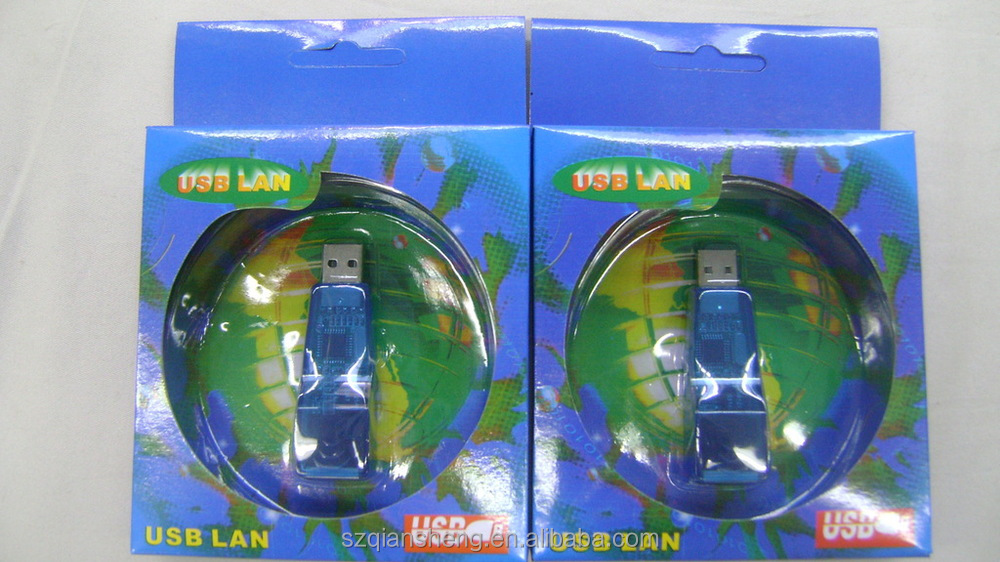 USB 2.0 to Ethernet 10/100 RJ45 LAN Network Card USB 2.0 to Ethernet adapter