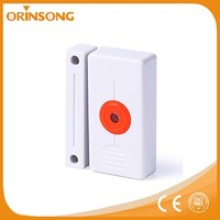 Magnetic contact and panic button curtain wireless burglar system alarm sensor