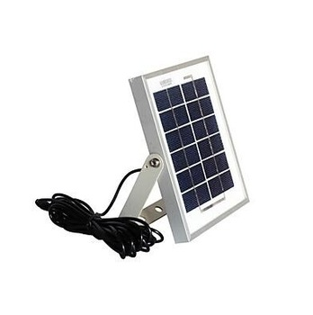 small size 3w solar panel 6v with aluminum alloy frame portable solar panel for lighting