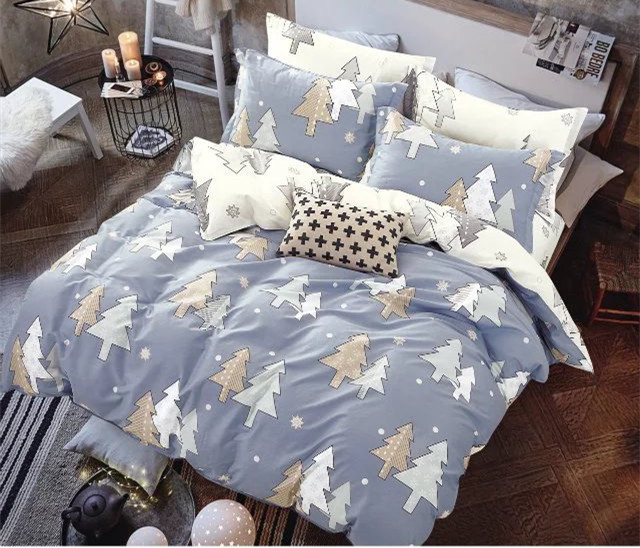 Custom made sublimation printing pillow case/duvet cover/bed sheet for sale