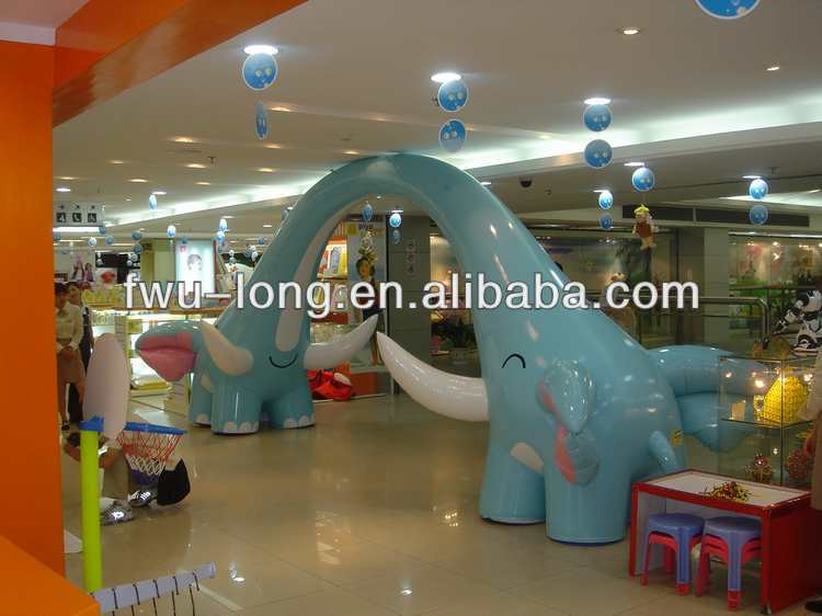 Funny useful diverse type giant plastic inflatable door for celebration