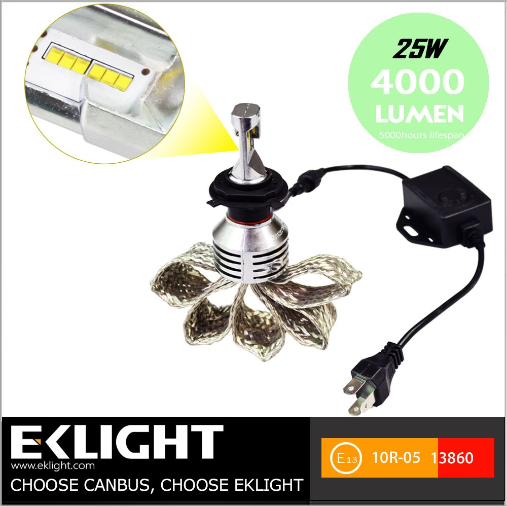 Car Bulb Autozone Accessories 9005 9006 High Beam Fanless LED Headlight Review Conversion Kit
