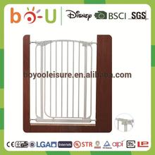Trustworthy china supplier great supplier simple metal baby safety gate