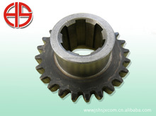 Radial drilling machine cylindrical gear