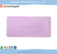 Food grade silicone rubber shower mat eco-friendly