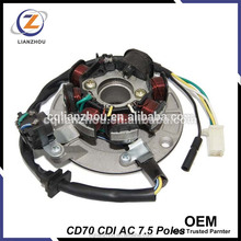 Wholesales OEM CD70 CDI Motorcycle Magneto Coil for Pakistan Market