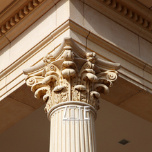 High Quality stone pillar capital