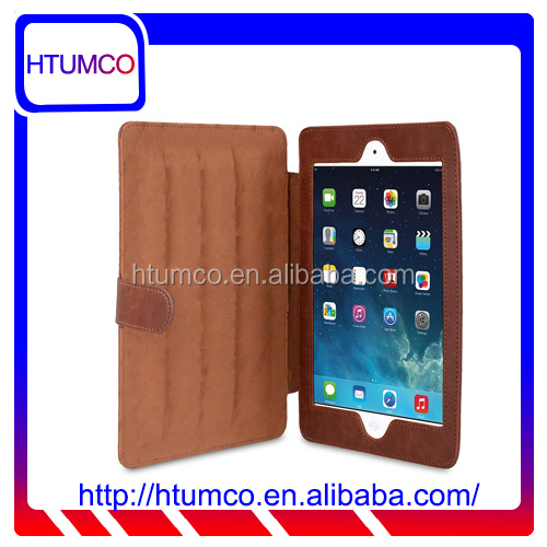 Fashion Stylish Stand Cover PU Leather Case for Apple iPad mini 4