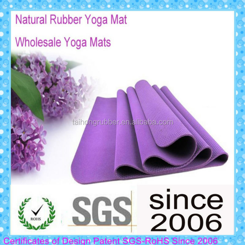 5mm 6mm chakra baby custom size anti-slip yoga mat