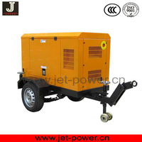 genset trailer with 2 wheels