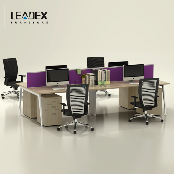 Leadex Modern Front Office Table Executive Desk Design