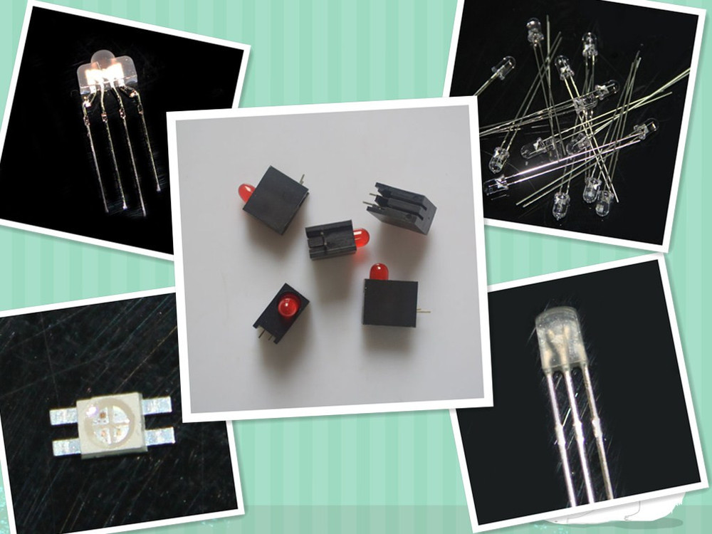 Free Samples High quality 2mm rgb dip led nipple led diodes with common anode or common cathode
