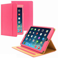 China factory high quality PU leather case with auto sleep/wake up function for ipad