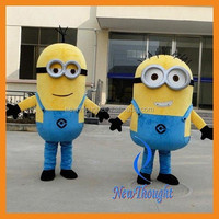 2015 Adult despicable me minion costume cartoon mascot