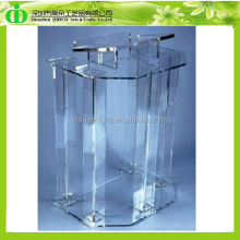 DDL-0017 Trade Assurance Hot Sell Clear Plastic Podium