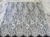 Top quality hot-sale dainty stretch nylon lace fabric
