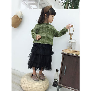 TENG YU kids clothing wholesale fashion chenille girl knitted sweater