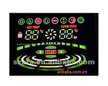 LED air conditioner display screen module