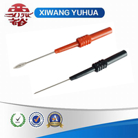 single needle test probe red and black color