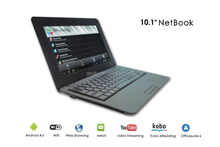 Android 10.1inch netbook/notebooks/mini laptop with Android 4.4, 1G/8GB Ram