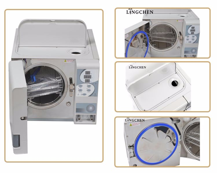 Hot sale factory 18L class B portable sterilizer dental autoclave price for sale