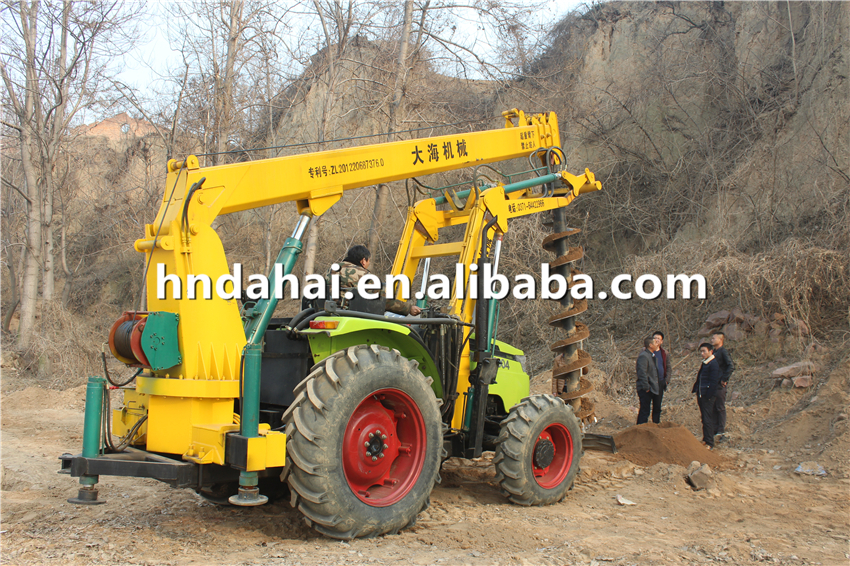 hot sale high quality drilling hole tractor