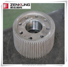 Customized transmission gear bevel gear large warm gears metal forged gears forging ring gear warm gears forged gear axis