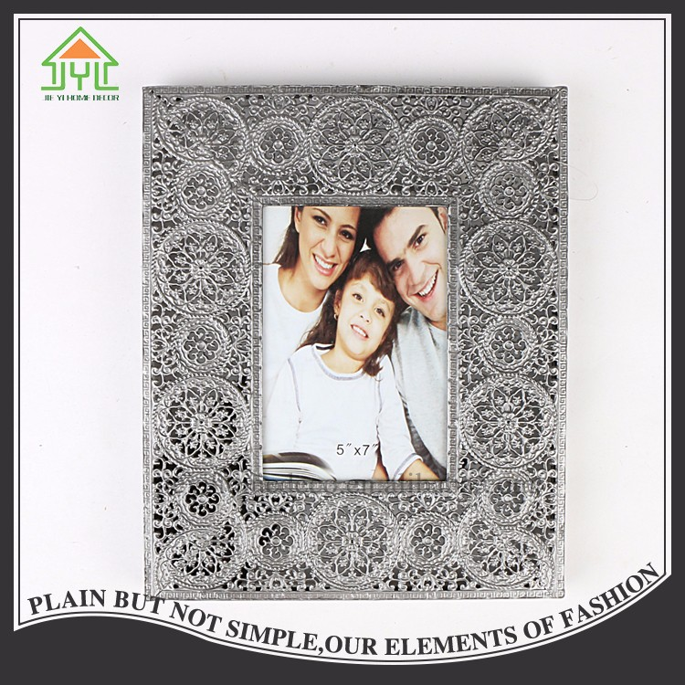 Beautiful Preferential Rectangle Family Small Collage Metal Photo Frame