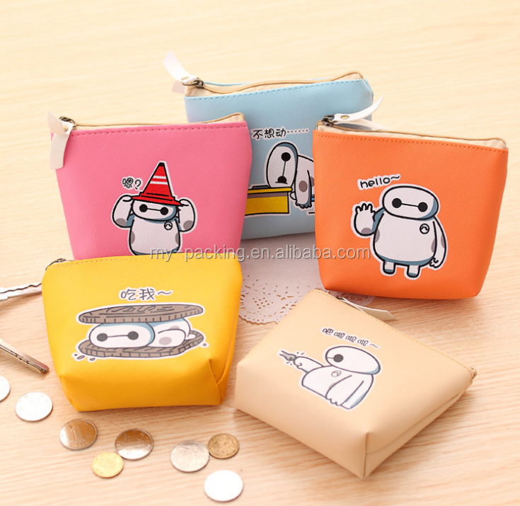 Lovely creative contracted male and female students zero wallet bag manufacturers selling custom cartoon great COINS