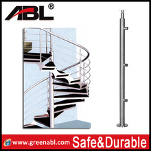 304 stainless steel wood stair parts
