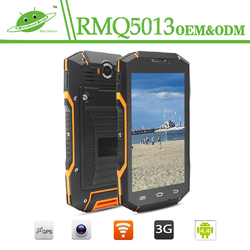 China new 2016 5.0inch 1GB 8GB 8.0MP camera 3G wifi NFC GPS rugged waterproof android mobile phone korea