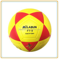 Milasun official standard pu glue laminated soccer ball hungriness tpu glue laminated football pvc glue laminated ball