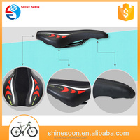 High quality Chinese leather bike seat road cool bicycle saddle leather saddle for bike