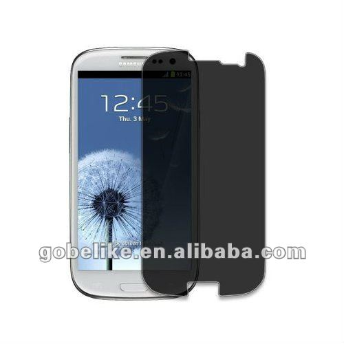 For Samsung Galaxy s3 privacy screen protector