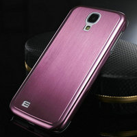 Brushed Aluminum case for Samsung S4 Luxury Hard Back Metal Aluminium Covers for Phone Drop Ship