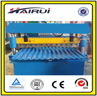 Metal Roof Iron Sheet Zinc Metal Roller Former Building Material Machinery