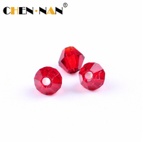 2018 Hot sale pressed crystal glass beads jewelry and garment accessories hand painted glass beads