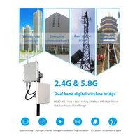 wireless Internet transmission microwave access point 15km outdoor