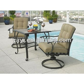 Swivel Collection Set with tile table