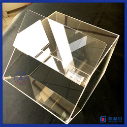 Yageli factory custom acrylic candy box containers for candy wholesale