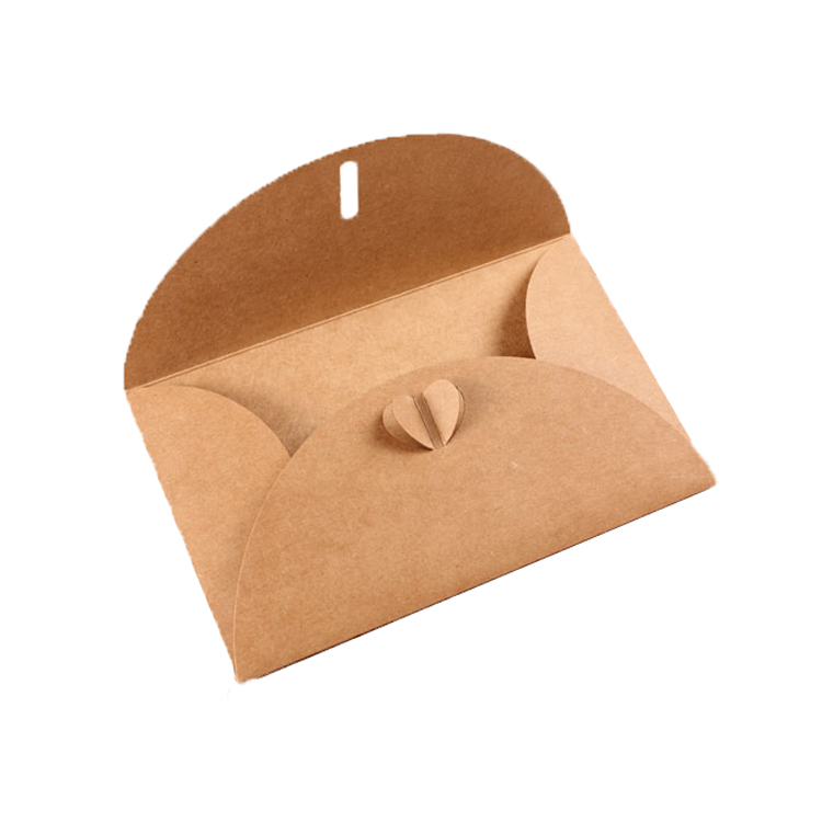 Wholesale customized handmade designer fancy kraft paper envelopes